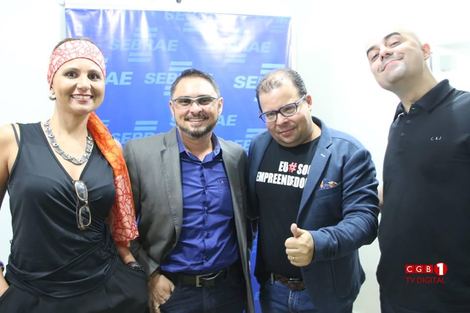 Agradecimentos aos amigos palestrantes Bruno Miranda e Drica Leão que nos vieram prestigiar no evento