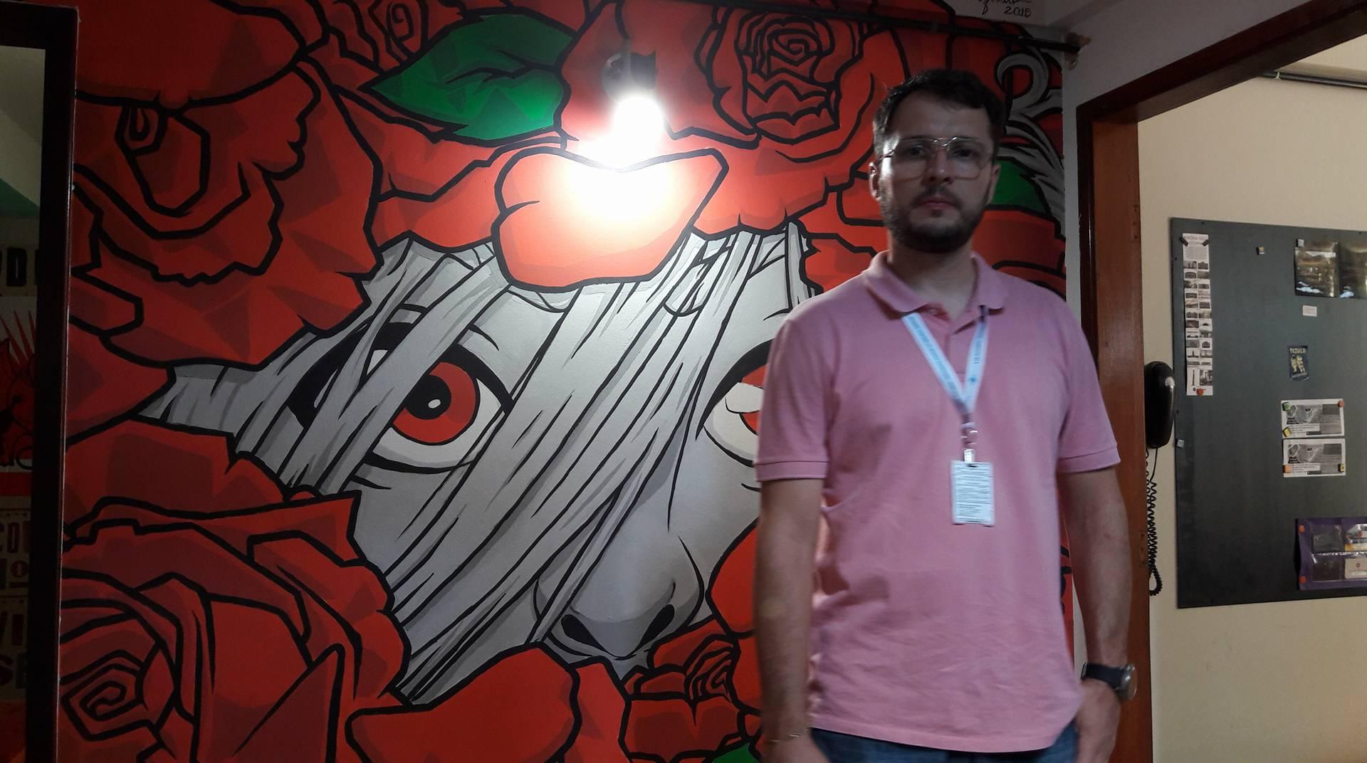 Gustavo, um consultor do Sebrae que gentilmente me acompanhou nas visitas