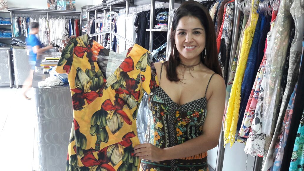 Keli, a gerente de loja antenada com a moda
