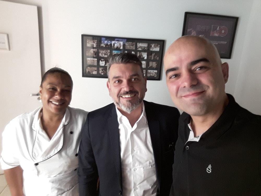 Keila Dantas Personal Chef, Alessandro Azzoni Advogado e Leandro Branquinho Palestrante - Os entrevistados do programa