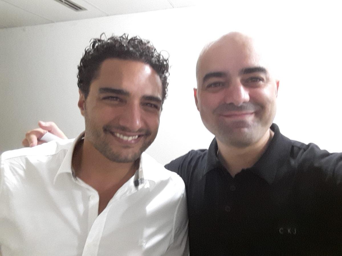 Leandro Branquinho Palestrante de Vendas e Romero Rodrigues Fundador do Buscapé