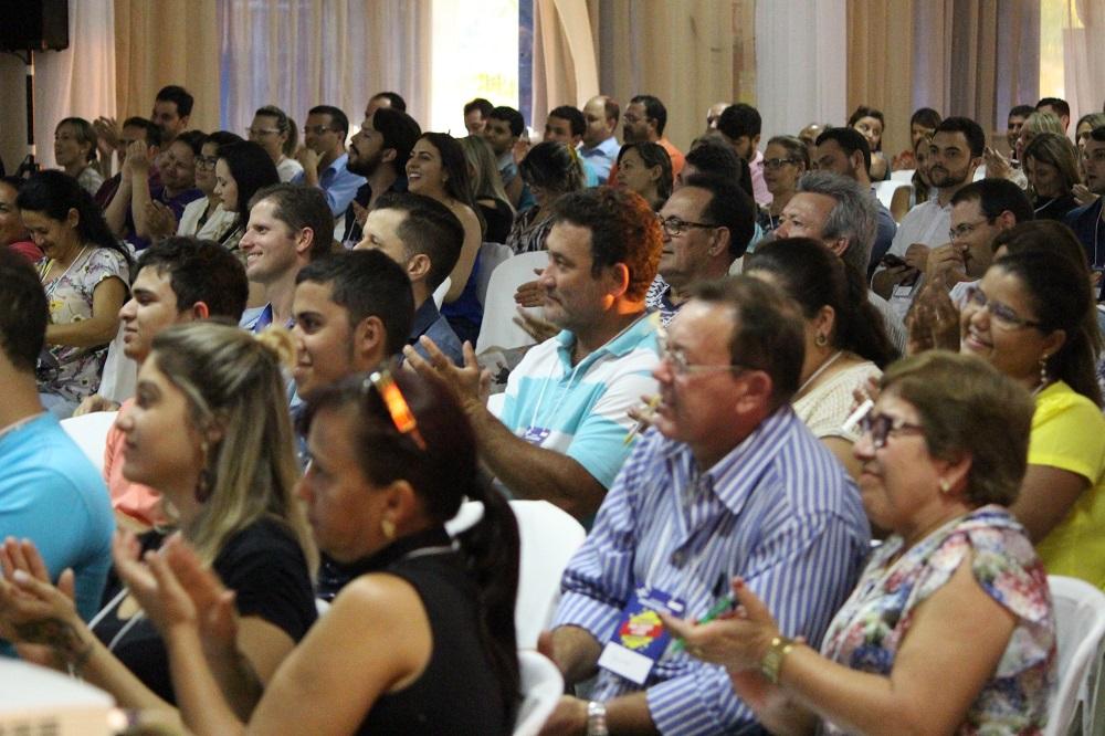 Parcial do público em palestra de Leandro Branquinho - Especialista em Vendas