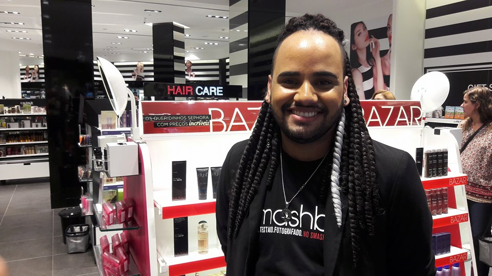 Vendedor da Sephora em Brasília