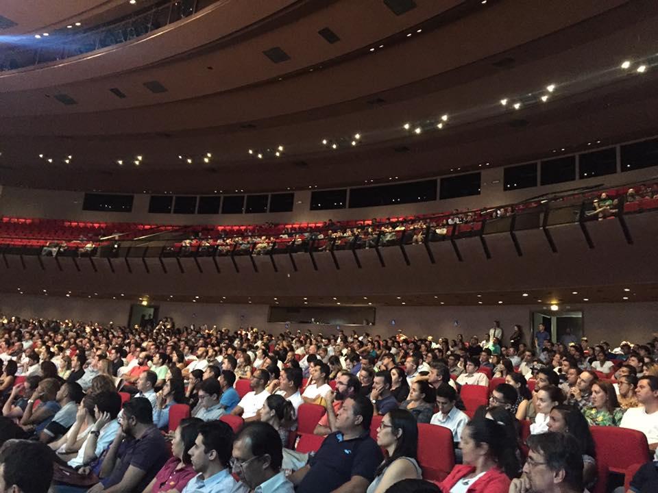 Auditório Rio Vermelho no Centro de Convenções em Goiânia - Foto Fred Rocha