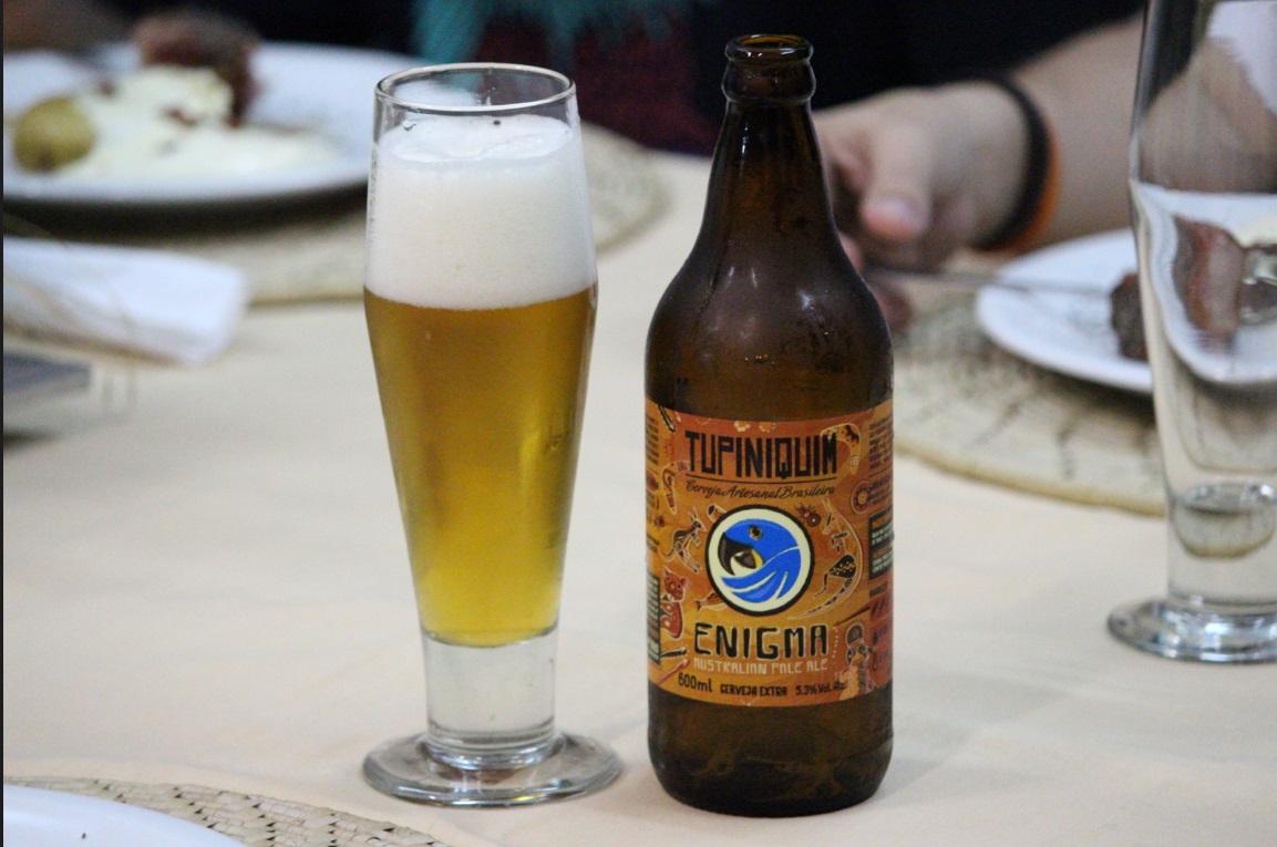 Teve cerveja fabricada em Porto Alegre também