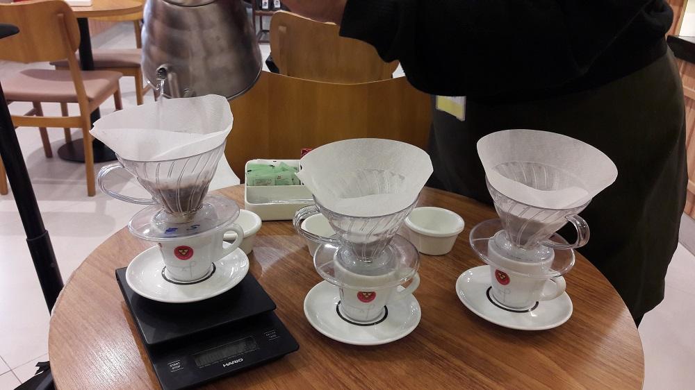 Mix de cafés no aeroporto de Confins