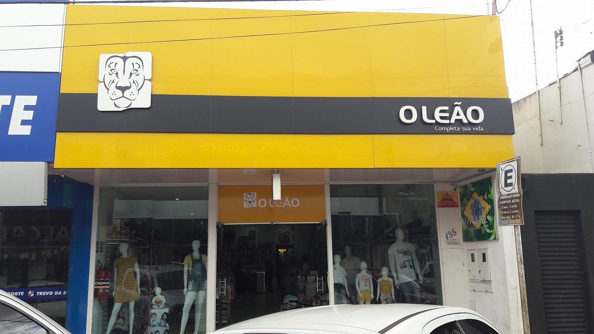 Uma das lojas da rede Leão
